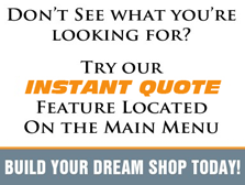 Customizer: Build your dream garage or shop today