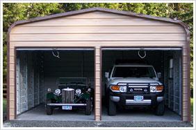 Custom Built Car Port